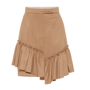 falda camel maxmara
